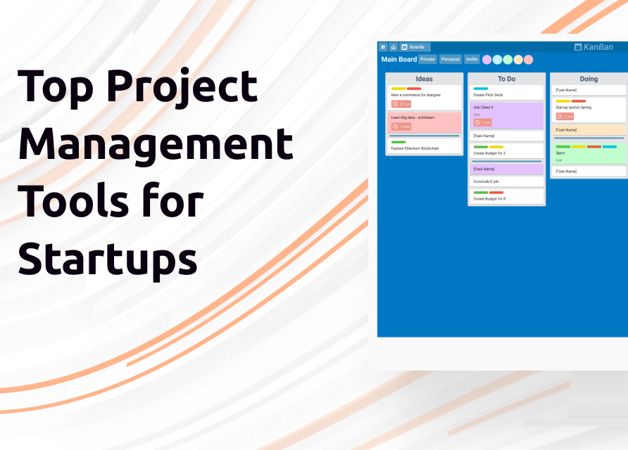 Top selection of project management tools for startups