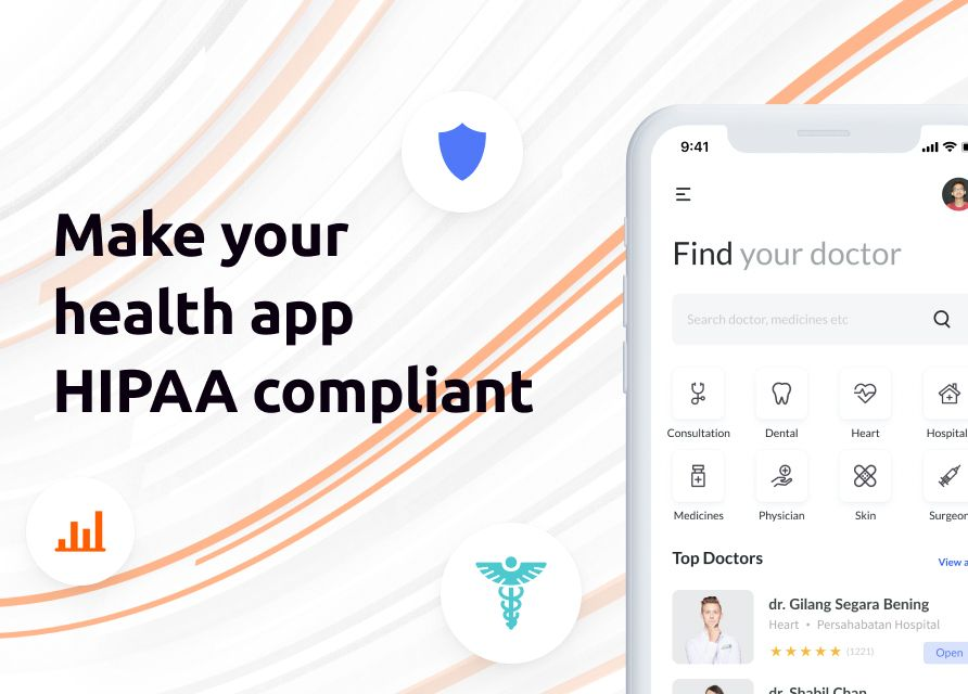 How to make your healthcare application HIPAA compliant?